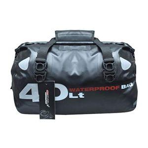Madbike Sac de Queue de Moto étanche Ultra-Grande capacité, Sac Multifonctionnel pour Sac de siège arrière Universel pour Sac à Dos étanche 40L