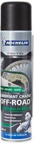 Michelin 008806 Moto Lubrifiant Chaîne Off-Road, 400 ml