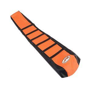 Moto Gripper Soft Moto Housse de Siège pour 65 85 125 200 250 300 400 450 525 SX EXC MXC 03-07 Orange/Noir