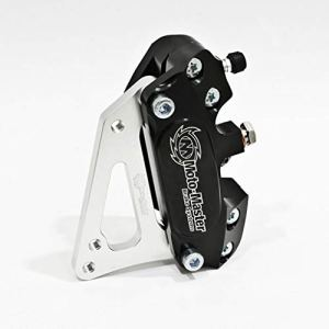 Moto-Master Supermoto Étrier de frein 4 pôles avec adaptateur 320 et plaquettes de frein EXC 125 Six Days 2T 09-16