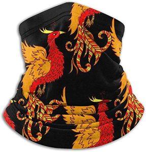 NA Red Phoenix Cagoule en Microfibre pour Le Cou