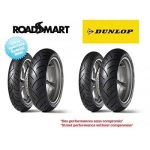 Pack de 4 pneus sport-touring dunlop roadsmart (2x 120/70… – Dunlop 5740020004