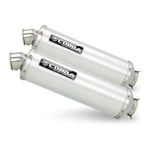 Pot d'echappement Suzuki GSX-R 1000 09-11 4in2in1in2 Cobra C5 aluminium