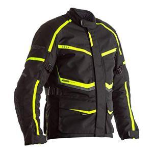 RST Veste Maverick ce Textile Noir/Fluo Taille 3XL Homme