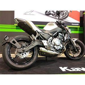 Support de plaque ACCESS DESIGN déporté»ras de roue» noir Kawasaki Z650