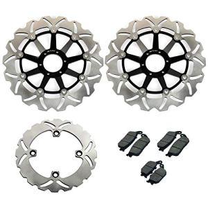 TARAZON 3 Rotors Disques de frein avant arrière et plaquettes Kit pour CB600F CB 600 F Hornet 2000 2001 2002 2003 2004 2005 2006