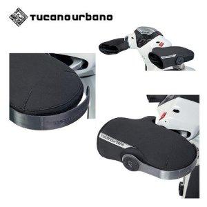 Tucano Urbano R363 Manchons en néoprène carénés imperméables et coupe-vent pour guidon avec contrepoids