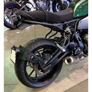 443321 – Support De Plaque Access Design Noir Déporté 'Ras De Roue' Yamaha Xsr