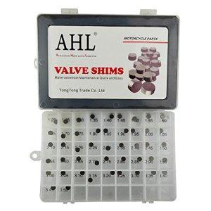 AHL 7.48mm Complete Hot Cams valve kit de cale Valve Shim pour Kawasaki W650 2000-2001/KX250F 2004-2012/KLX300R 1997-2005 (1x47pcs)