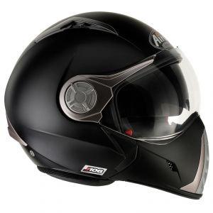 Airoh Casque de Moto Modulaire, Noir Mat, 60-L