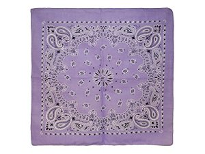 Bandana Zandana violet clair 100% Cotton 161