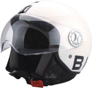 BHR Casque Demi Jet, Design Blanc, 59-60 ( L )