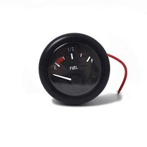 Capteurs de pièces détachées automobiles 12V Marine carburant de jauge de niveau de carburant + 350mm niveau du capteur, avec LED (52mm)