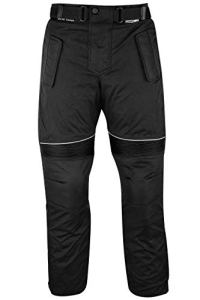 German Wear Pantalon de Moto Cordura, Noir, 52 – L