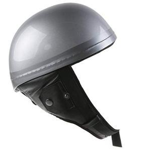 Germot tTHEROES casque jet en fibre de verre-argent
