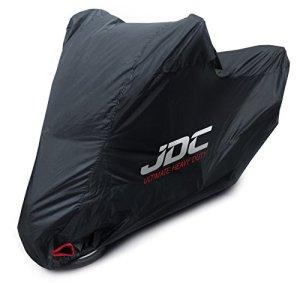JDC Housse Moto 100% étanche – Ultimate Heavy Duty (Extra Robuste, Doublure Souple, Panneaux résistants à la Chaleur, Coutures étanchéifiées) – XXL Top Case