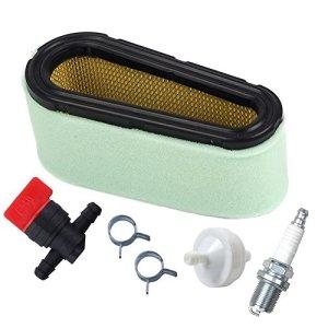 OuyFilters 496894 Filtre à air avec filtre à carburant 394358 et valve d'arrêt carburant 494768 pour moteurs monocylindre 12,5-17HP