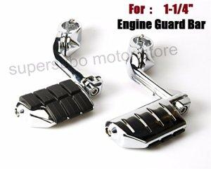 1.25″1 1/4″ garde de barre de repos de repose-pied d'autoroute pour Harley Touring Softail Dyna Sportster