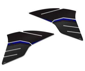 Adhésifs 3D Protections Réservoir Compatible avec Yamaha Tracer 900 2019 Bleu