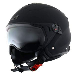Astone Helmets Casque Jet Mini Sport, Noir Mat, XXL