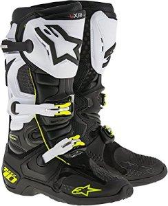 Bottes Alpinestars Tech 10 Noir/Blanc 48