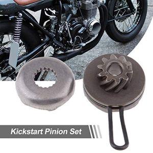 DZF-PIGNON, 1 Kick Start Pignon de Rechange for pignon de démarrage for Moteur 50cc Minarelli Yamaha Aerox 50 2 Temps MBK Nitro Etc