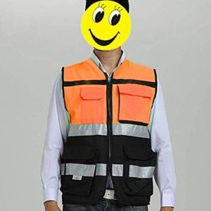 Gilet réflecteur Multifonctions Gilet de sécurité réfléchissant Reflective Moto Vestes Gilet de sécurité avec vêtements de sécurité réfléchissants