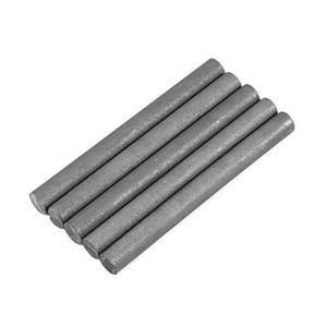 Jarchii Tiges de Graphite de Cylindre d'électrode, 5pcs Couleur Noire 99,9% Tige de Cylindre d'électrode de Graphite Longueur 100 mm diamètre 10 mm
