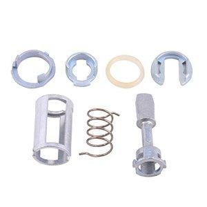Kit de réparation de barillet de serrure de porte, kit de réparation de cylindre de serrure de porte avant gauche droite pièces de rechange pour V W MK4 GOLF BORA