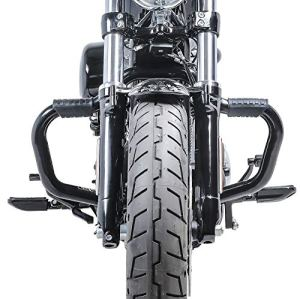 Pare Cylindre Mustache II pour Harley Sportster 883 04-10 Pare Carter Noir