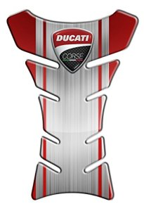 Protection de reservoir Moto MODELS en Gel compatible DUCATI CORSE Pad réservoir 3D
