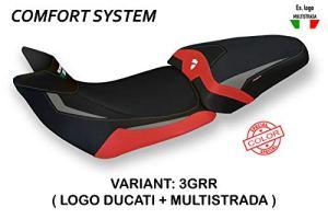 Revêtement de Selle pour Ducati Multistrada 1260 modèle Patna Special Color Comfort Tapisserie Italie #3