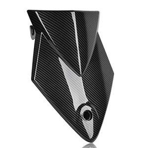 Siège arrière Couverture for BMW S1000RR 2014 2013 2012 2011 2010 2009 Pélion passagers Dur Cowl Hump S 1000RR Accessoires Moto (Color : Carbon Fiber Look)