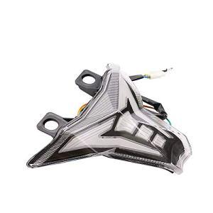 YEEWEN Moto Accessoires Pièces Pièces de rechange universelles pour réparation de pièces de rechange pour moto, compatibles avec les feux d'assemblage de feu arrière For Kawasaki Z1000, clignotant ave