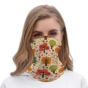 Yolocal Bandanas sans couture pour le visage, la poussière, l'extérieur, le camping, la course