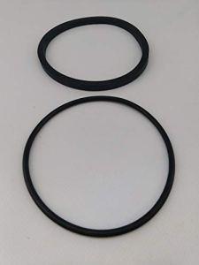 Aqualux – Kit 2 Joints pour Pompes EDG 100517/100518 (Carre/torique)