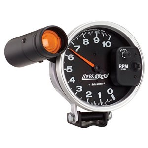 Auto Meter 233904 Autogage Monster Shift-Lite Tachometer by Auto Meter