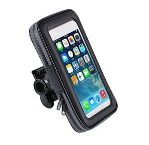 DOGKLDSF Sac Cadre de vélo, Moto Phone Holder Sac Universel vélo téléphone Stockage Support avec écran Tactile imperméable à l'eau