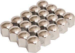 HP-Autozubehör 82922 Jeu de cache-boulons Nirosta 19 mm