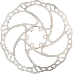 Magura 6Trous Disque de Frein, Mixte, 4055184016411, Silber, Ø 180mm