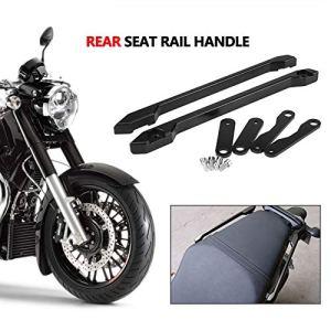 Moto Moto Arrière Passager Siège Barre d'Appui CNC CNC En Alliage D'aluminium Siège Rail Kit Fit pour Ya_maha MT-09 FZ-09 2013-2016