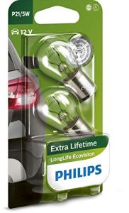 Philips 681252 LongLife EcoVision P21/5W, 12 V, Set de 2