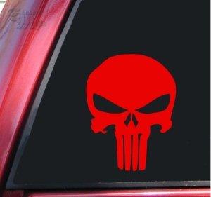 Punisher 2K Tête de mort Autocollant vinyle