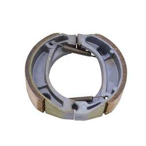 Tambour de frein arrière avant moto Chaussures Jeux/for Honda XR 200 R XR190 / Fit for XR200 XR 250 R XR250 (Color : Metallic)