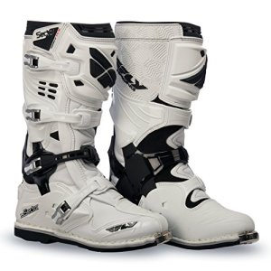 Fly Racing Bottes de Motocross Sector Blanc Taille 46