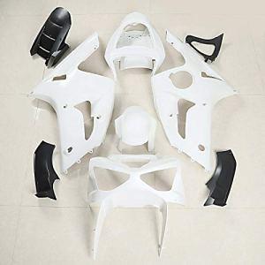 Kit Carénage Complet ABS pour Kawasaki ZX-6R 03-04 Zaddox Piste et Rue