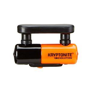 Kryptonite Evolution Compact Serrure Adulte Mixte, Orange, Disc