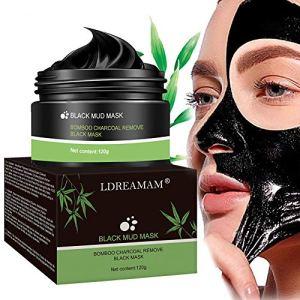 Peel off Masque,Blackhead Remover Masque,Masque Charbon Noire,Nettoyant en Profondeur Rétrécir Pores,Anti-Point Noir Masque,120g