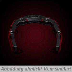 SW-MoTech Accessoires de Sac à Dos Quick Lock Quick-Lock Pro Anneau de réservoir TRT.00.787.11600/B 6-vis, Unisexe, Multipurpose, Toute l'année, Noir