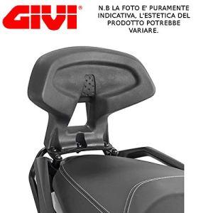 TB3106schienalino Givi Dossier Passager pour Suzuki Burgman 2002015Dos Noir